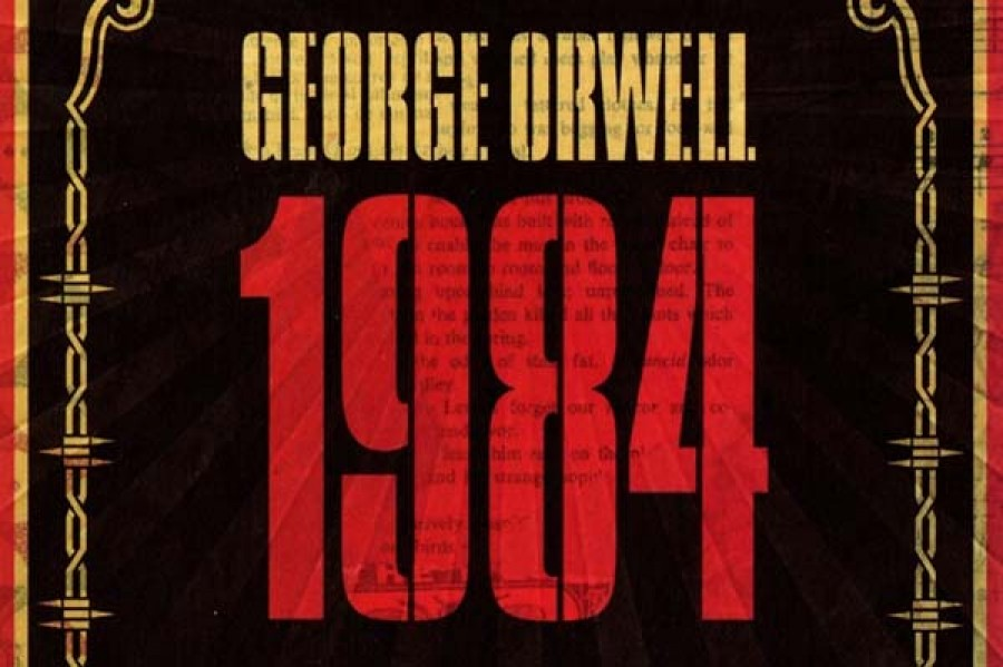 the depiction of the totalitarian government of the time in george orwells 1984
