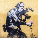Banksy - graffiti