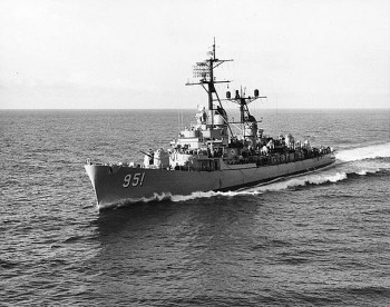 "USS ""Turner Joy"" w 1962"