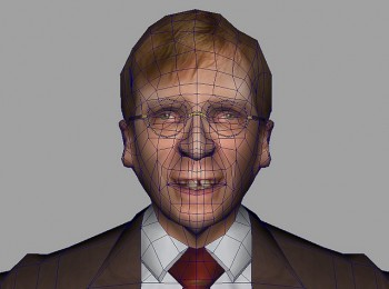 3D model of Guy Verhofstadt