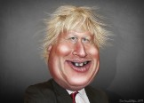 Boris Johnson - Caricature